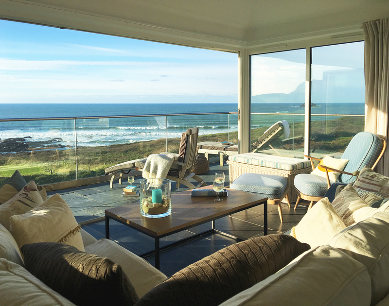 Take time out in the Sun Room at Spindirft to relax and watch the Atlantic ocean roll in and out.