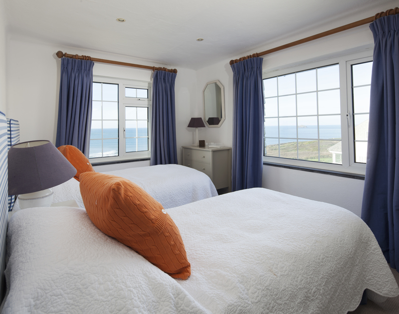 Lie in bed at Spindrift and make the most of the stunning sea views while you listen to the crashing waves on the beach below.
