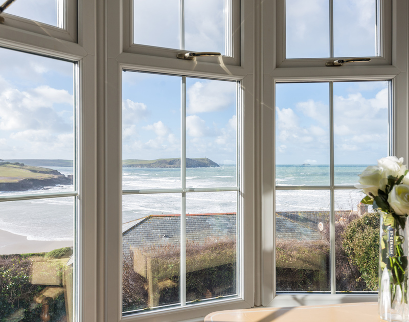 Relax in the comfort of your own bedroom and enjoy the gorgeous sea views from the master bedroom