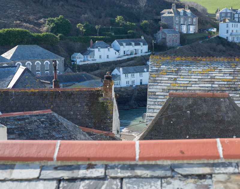 TV series Doc Martin fans can observe the fictional doctors house just across the harbour from Bre Cottage  self catering holiday accommodation in Port Isaac, better known to fans as Port Wenn!