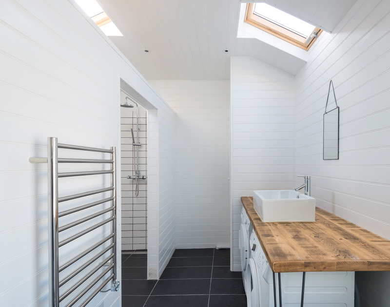 Surfers and beach goers will really appreciate the newly built utility and shower room after their salty, sandy days in Polzeath, north Cornwall.