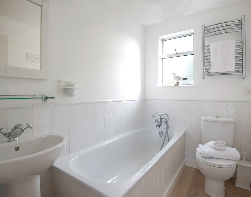 Another of the three bathrooms at Slipway 19, a holiday rental in Rock, Cornwall.