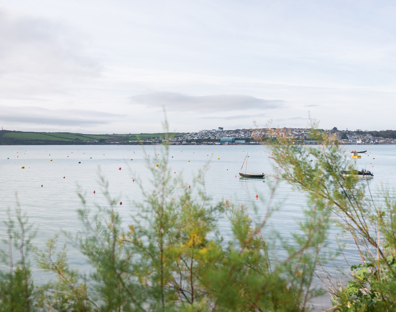 Views over the estuary towards Padstow from 5, The Terrace, a self catering, holiday house in Rock, north Cornwall.