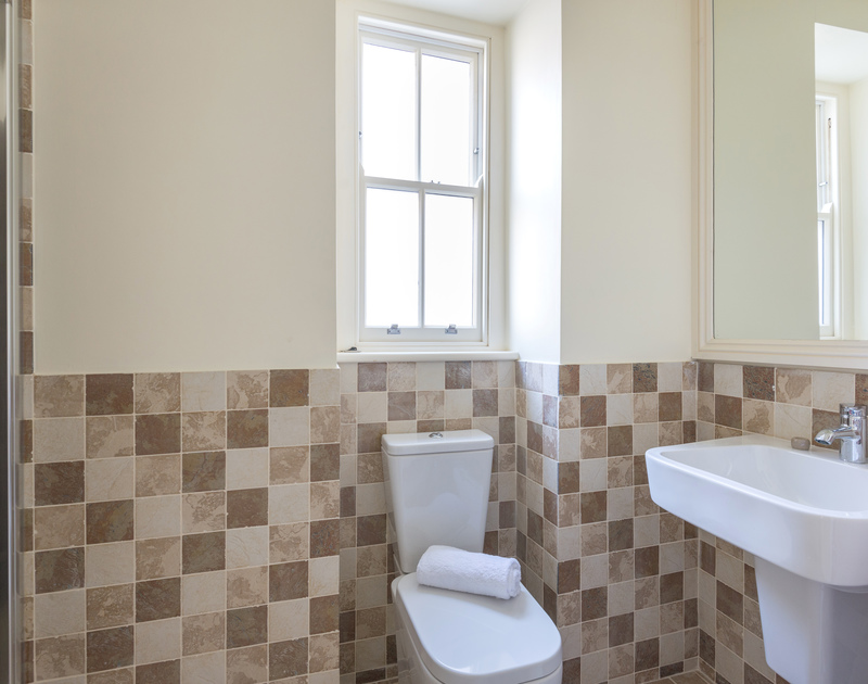 Another bathroom at 5, The Terrace, a recently renovated and refurbished holiday house in Rock, Cornwall.