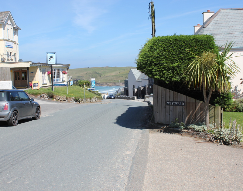Stroll down the hill from Westward 7, to the sea, beach and shops at Polzeath in north Cornwall.