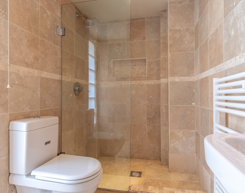 Greta sized shower room at Greystones, a self catering, holiday house to rent moments from the sea and sands of Daymer Bay in North Cornwall.