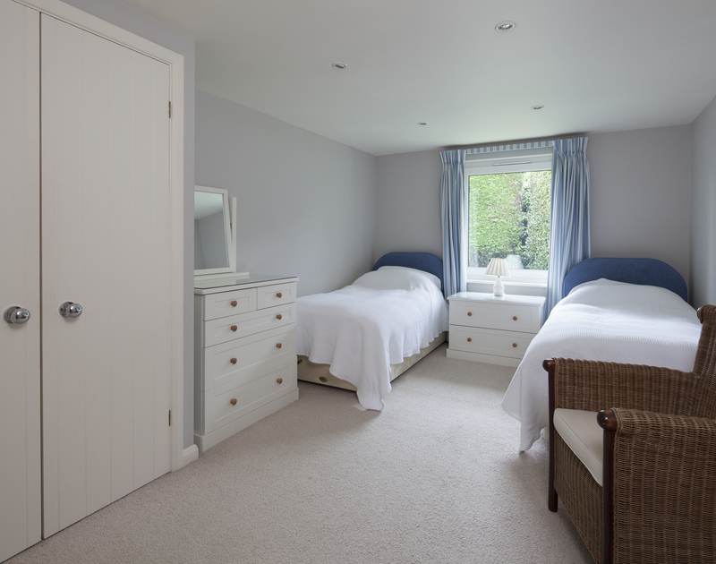 On the ground floor at Anchorage 4 is the remaining ground floor bedroom which has garden views.