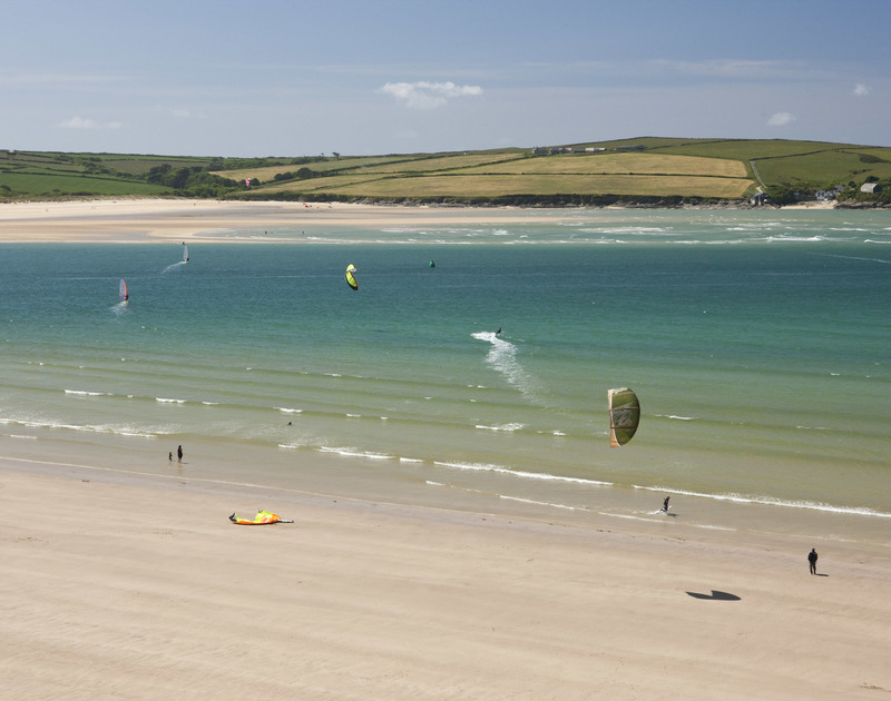 Enjoy all the watersports on offer during your stay, just a walk away from Greystones, a comfortable large holiday retreat in Daymer Bay.
