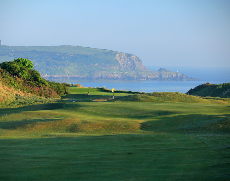 Unsurpassable views of St Enodoc golf course and the Camel Estuary form self catering holiday house Greystones in Daymer Bay.