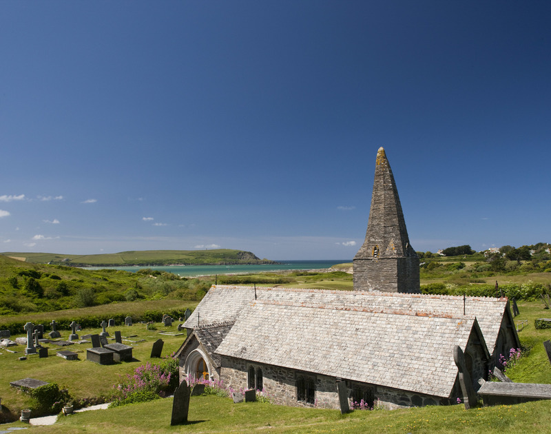 A favourite spot of the late poet Sir John Betjeman is the picturesque St Enodoc Church, a short walk from self catering holiday house Greystones in Daymer Bay.