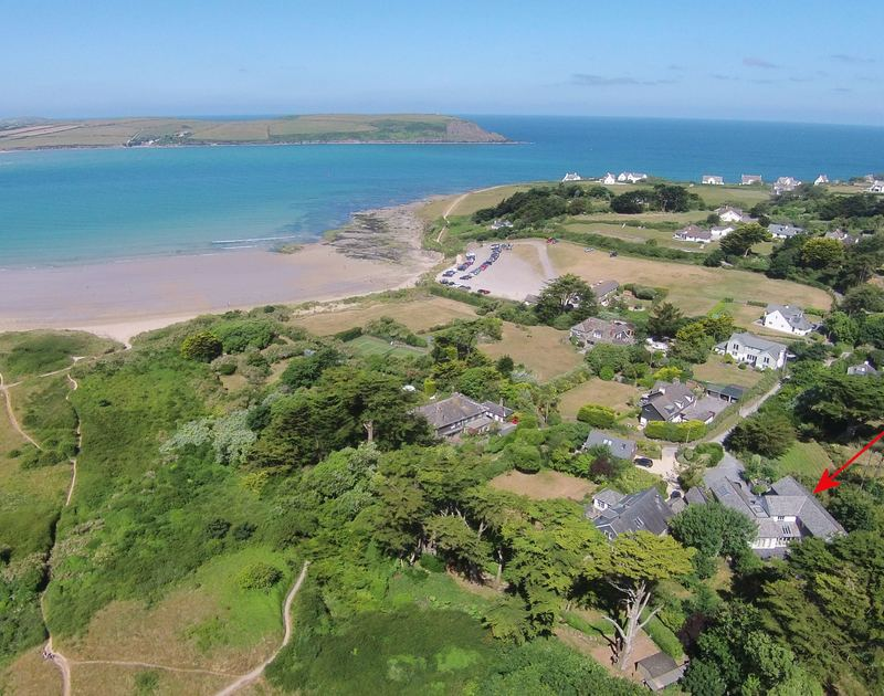 Church Lane House lies so close to the beautiful Camel Estuary and the large sandy sweep of Daymer Bay beach in North Cornwall.