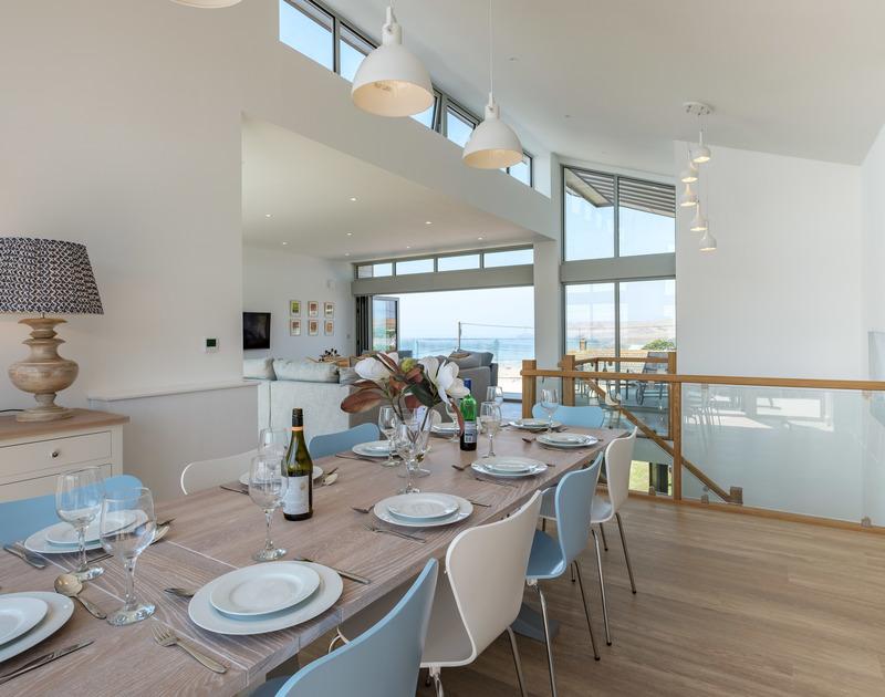 A stunning open plan space at Point Break, offers exceptional entertaining room for all the family to enjoy