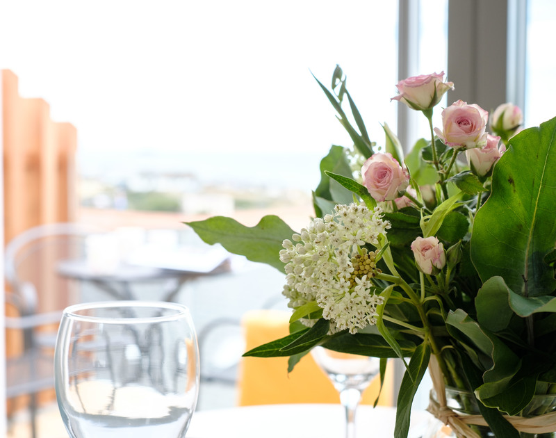 Dine in at Backwater, a luxury holiday rental with coastal views at Polzeath in Cornwall.