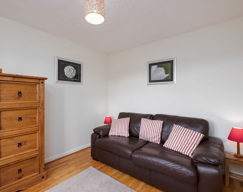 The Study/TV room with sofa bed at Whiteaway, a self-catering holiday house in Rock, Cornwall