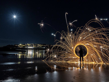 Celebrate New Year on the north Cornwall coast and stay with John Bray - photo Chris Fletcher Photography