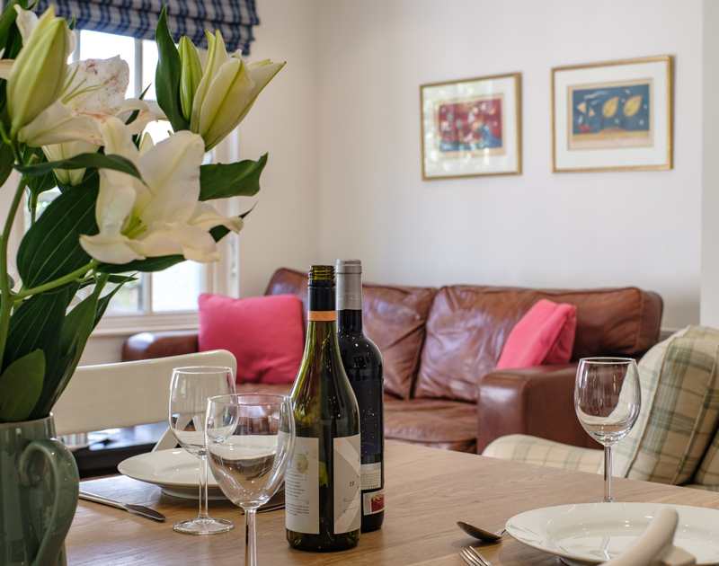 Dine in style from the comfort of Lowenna Manor 10, a self catering holiday property along the Rock road in north Cornwall.