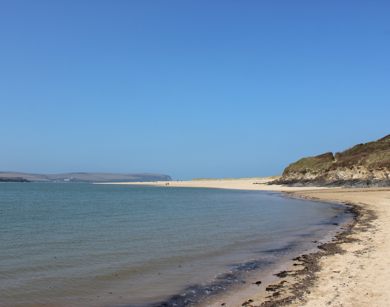 Rock beach is just up the road from Lowenna Manor 10 and here you can enjoy golden sands and explore the winding dunes