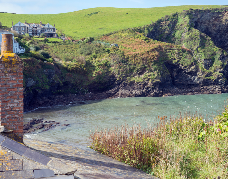 Port Issac's working, fishing harbour just a stones throw from Homestead, a cosy self catering holiday cottage for two in beautiful North Cornwall.