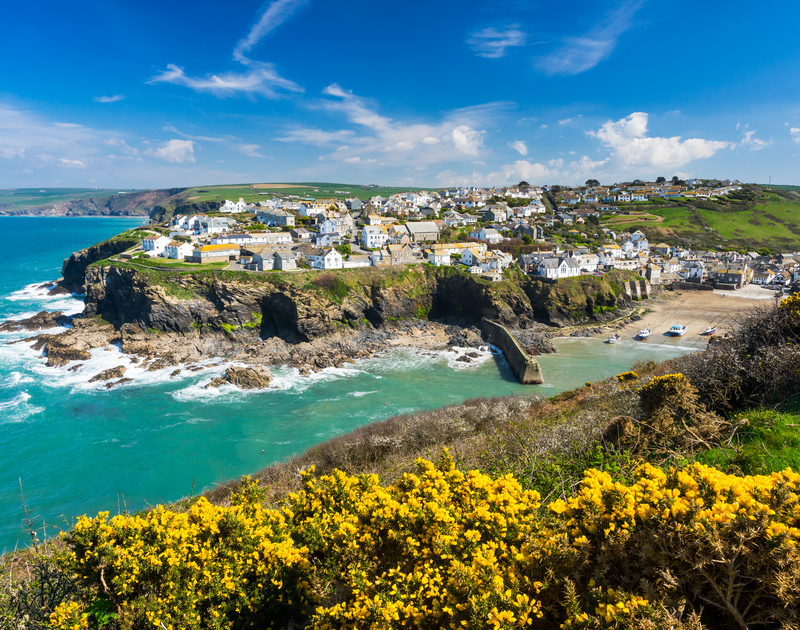 The seaside village of Port Isaac in Cornwall has been made famous by the Fisherman's Friends and Doc Martin TV series