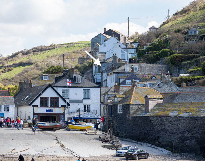 Leave Hillside Cottage and stroll down Church Hill to Port Isaac harbour on the North Cornwall Coast