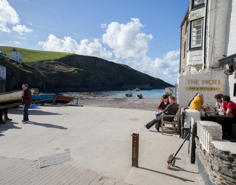 The lovely harbour of Port Isaac, just a stones throw from Hillside Cottage self catering holiday home in North Cornwall.