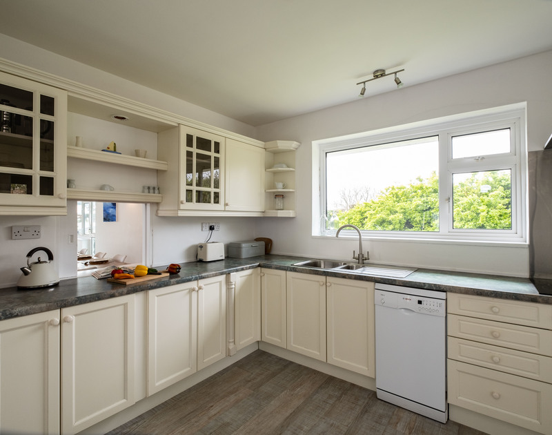 The Kitchen area in Corriana,a self catering holiday house to rent in  Rock, Cornwall