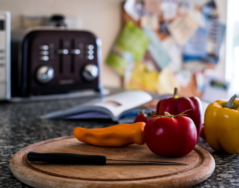 The kitchen is well equipped with everything you could need to cook a delicious meal
