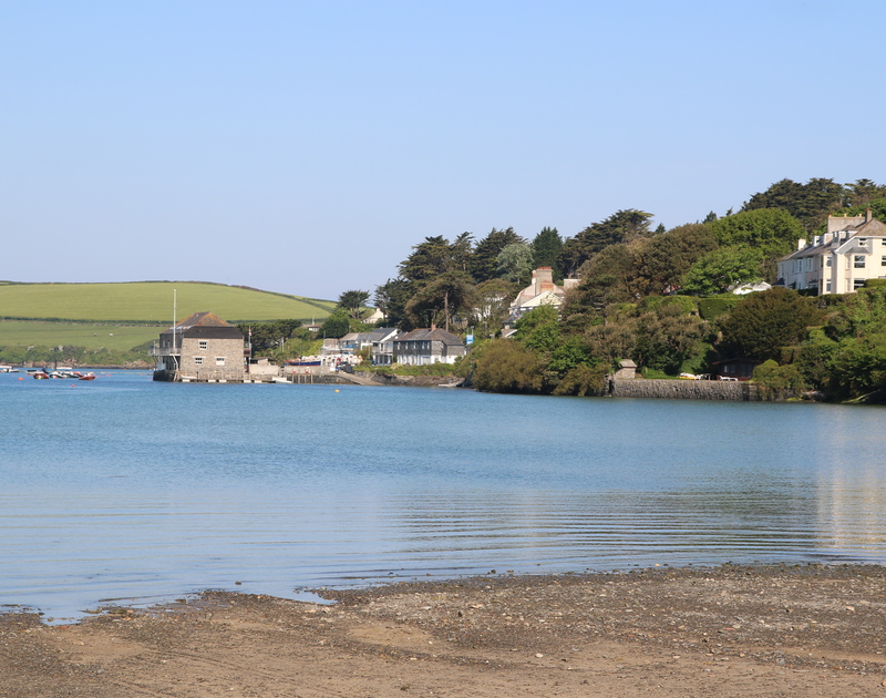 Porthilly Cove is just a short walk from Lowenna Manor, in Rock Cornwall