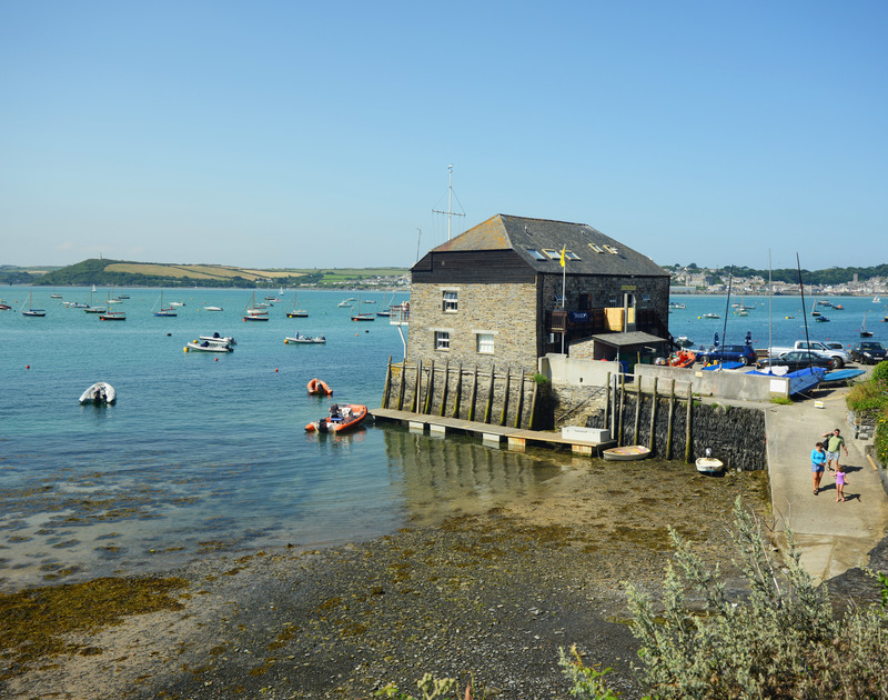 The Rock moorings are just a short walk from Whiteaway holiday cottage on the North Cornwall Coast.