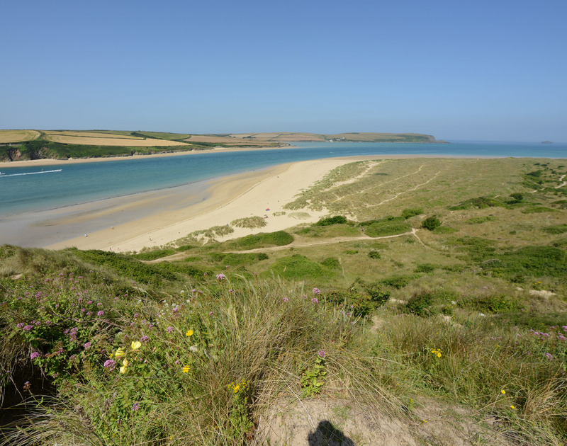 The beautiful coastal footpaths along the Camel Estuary, in North Cornwall.