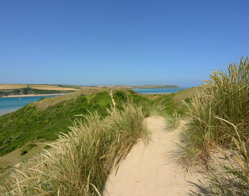 Rock has many beautiful coastal paths to explore, in North Cornwall