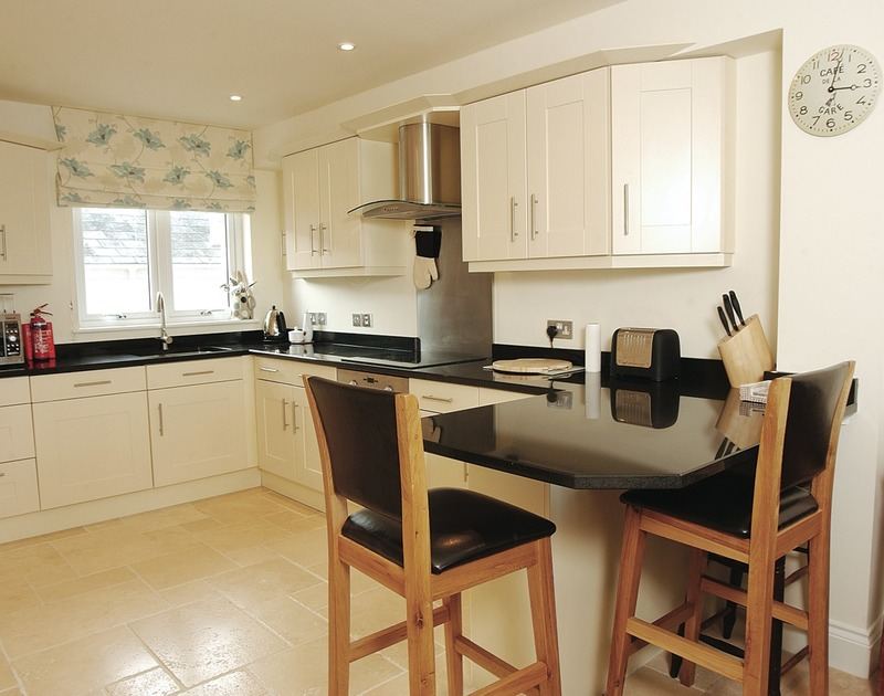 The contemporary kitchen in Rock Lobster, a self catering holiday rental in Port Isaac, Cornwall.