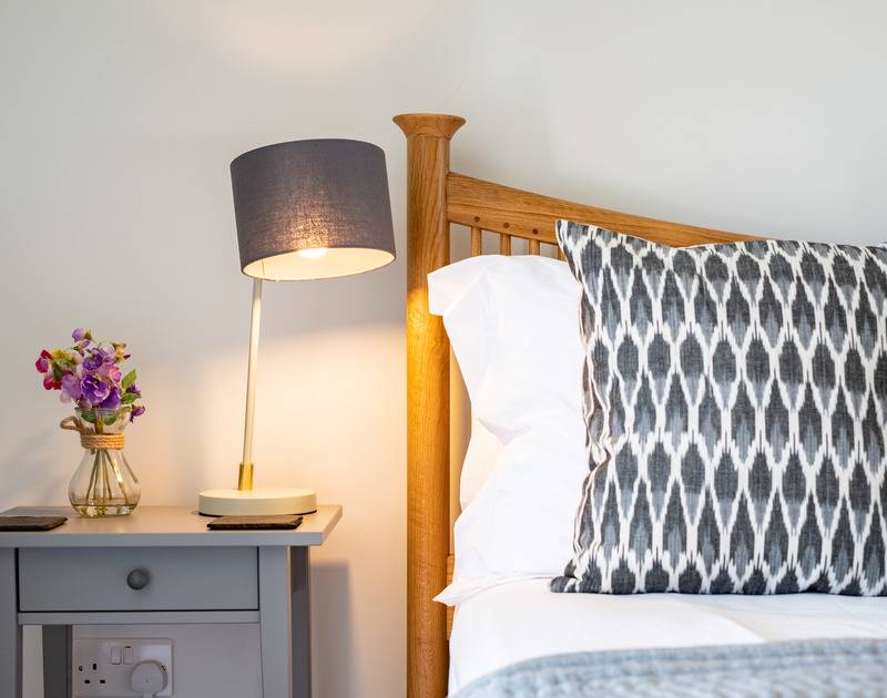 The stylish interiors of Tor View, St Minver self catering holiday cottages in North Cornwall.