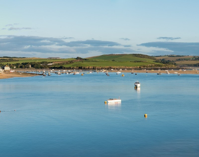 The stunning Camel Estuary in Rock, moments from Tremay self catering holiday home in Rock, North Cornwall.