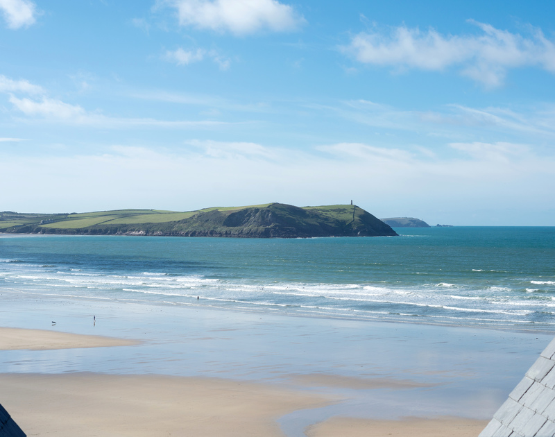 Check out the surf from Greenaway self catering holiday home in New Polzeath, North Cornwall.