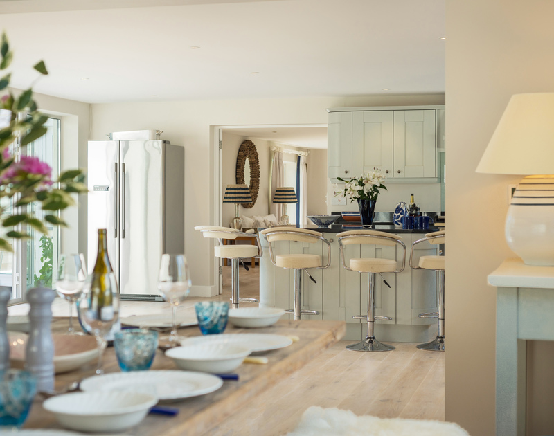Enjoy home cooked meals at Greenaway Heights self catering holiday home in Daymer Bay, North Cornwall.