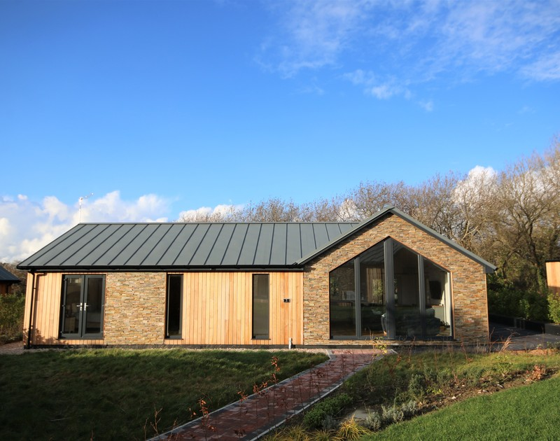 The external view of Barcelona self catering holiday home in Rock, North Cornwall.