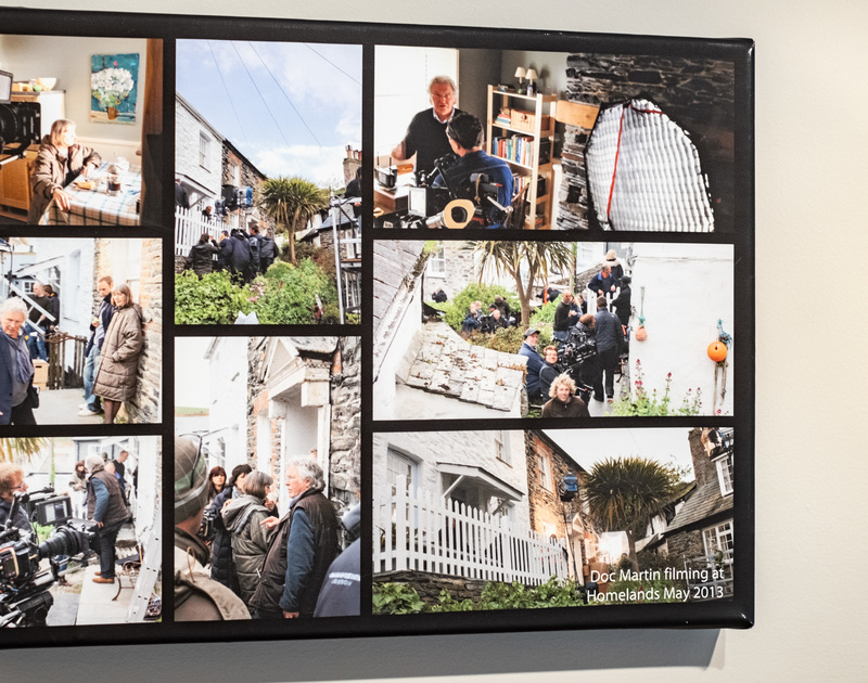 Snippets of the Doc Martin filming that took place in 2013 at the self-catering holiday cottage of Homelands, Dolphin Street, Port Isaac
