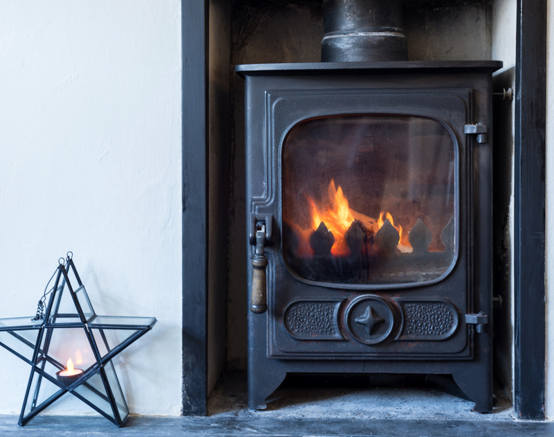 There's nothing like an atmospheric woodburner to warm you up when staying in a quaint fishermen's cottage in the old harbour of Port Isaac - Scuppers self-catering holiday cottage