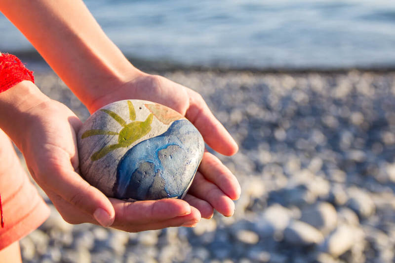 Creating memories on a pebble