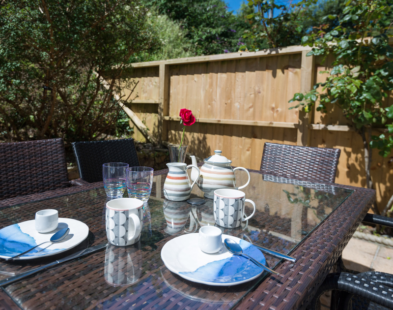 Enjoy breakfast in the sun? Stop Tide's patio enjoys the sun throughout the day