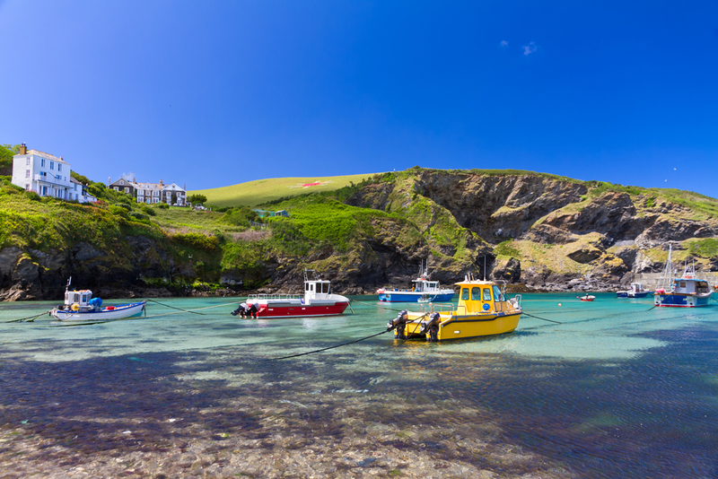 Enjoy stunning views of Port Isaac