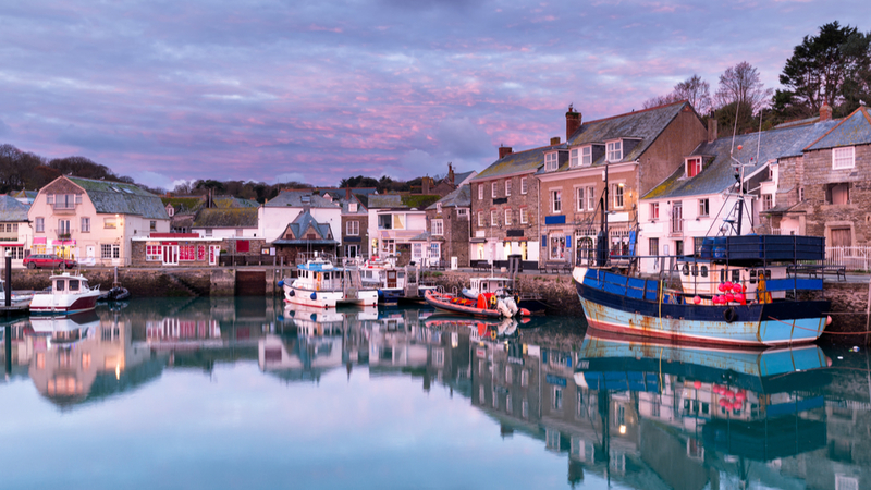 Winter in Padstow