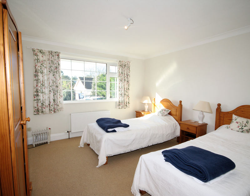 A spacious, attractively decorated bedroom at Lanhay, a self-catering holiday house in Rock, Cornwall