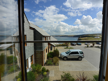 Beautiful sea views from the side of Rock Lobster, a self catering holiday house to rent in Port Isaac, Cornwall.