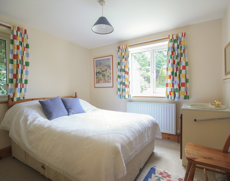 A double bedroom in Seaworthy, a lovely holiday rental at Daymer Bay, Cornwall