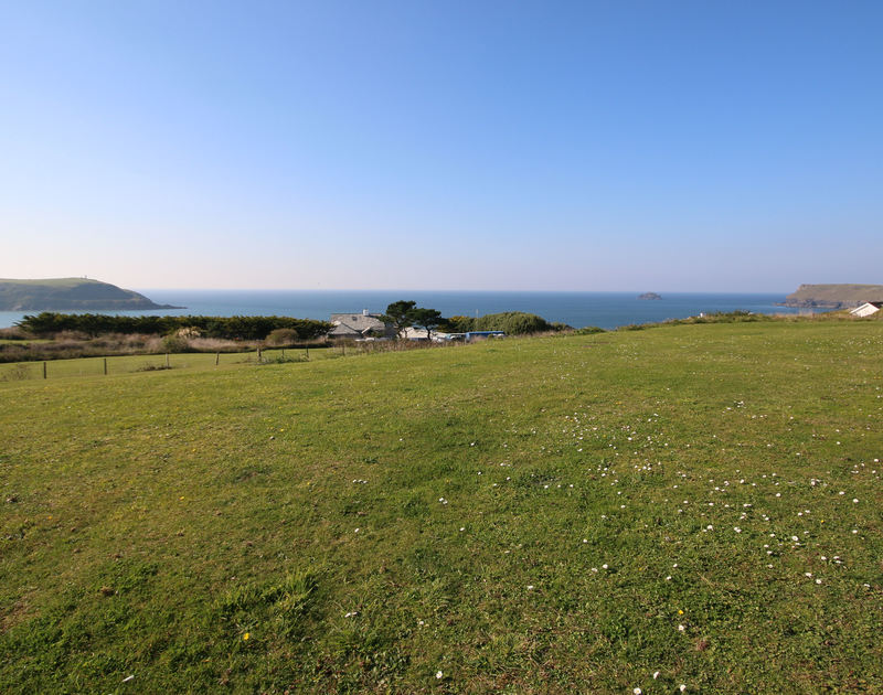 Fabulous coastal views from Penrhyn, a holiday house to rent at Daymer Bay, Cornwall