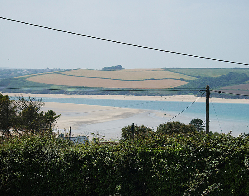 Far reaching Camel Estuary views from Turnstones, a self catering holiday house to rent in Daymer Bay, Cornwall.