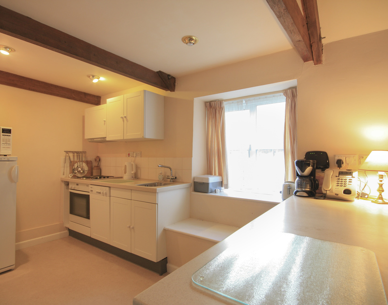 The kitchen in Mill Pond, a self catering holiday house to rent in Rock, Cornwall.