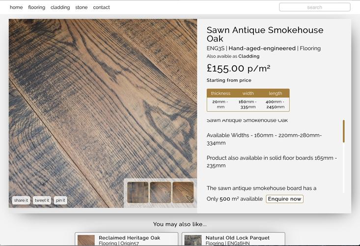 The Reclaimed Flooring Company Web Designer  Kris Oliver